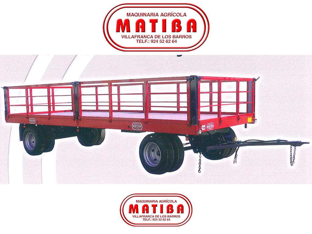 Plataforma para recogida y transporte de fruta